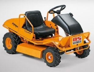 AS remote controlled brushcutter