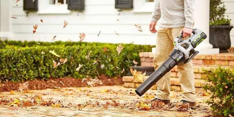 Cordless EGO leaf blower