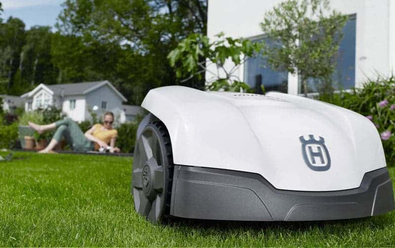 Husqvarna robotic mower stockist in north devon