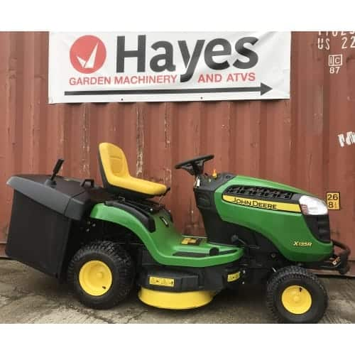 Second hand John Deere X135R direct collect