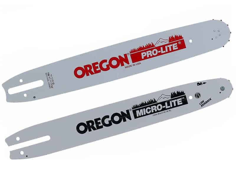 Oregon chainsaw guide bars