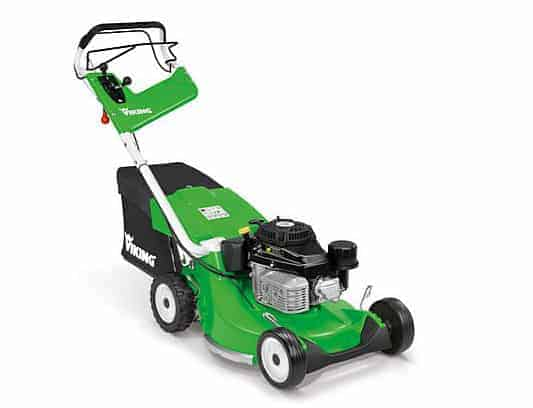Viking lawn mower with mono handle