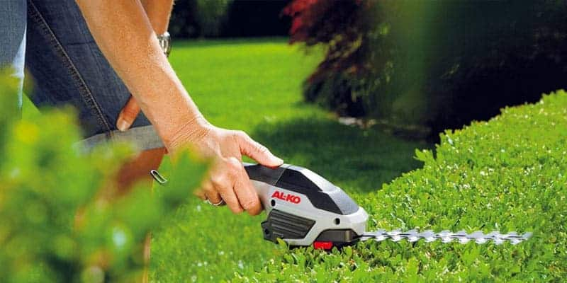 AL-KO handheld hedge trimmer