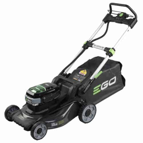 EGO LM2024 cordless lawn mower in north devon