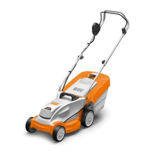 Stihl cordless lawnmower, north devon