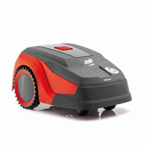 small robotic mower