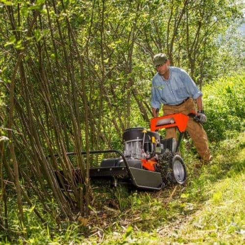Professional DR clearing field and brush mower