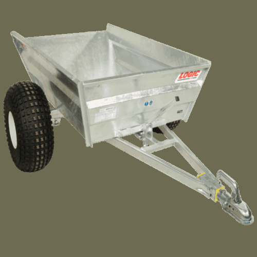 Logic heavy duty dumping trailer