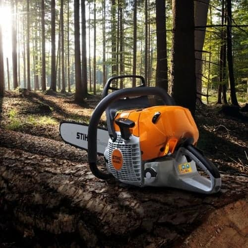 Stihl professional chainsaws in devon
