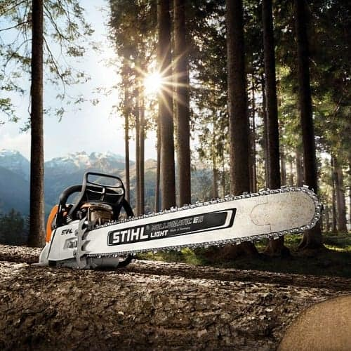 Stihl professional petrol chainsaw supplier in north devon