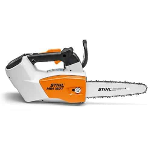 Stihl MSA160T lightweight cordless top handled chainsaw