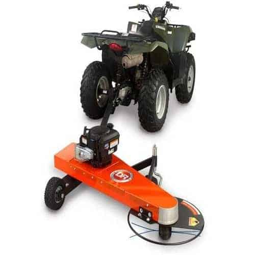 DR 7 25 All Terrain ATV Quad bike Tow Behind Trimmer / Mower