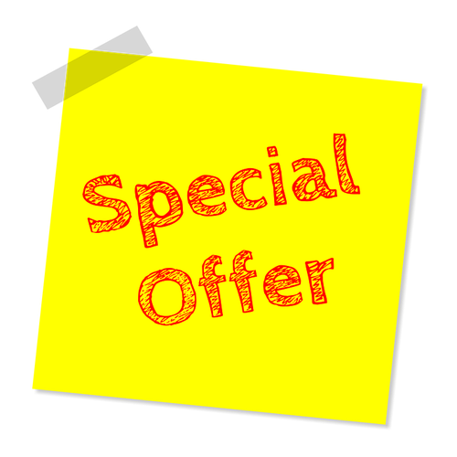 BUNDLE DEALS AND SPECIAL OFFERS